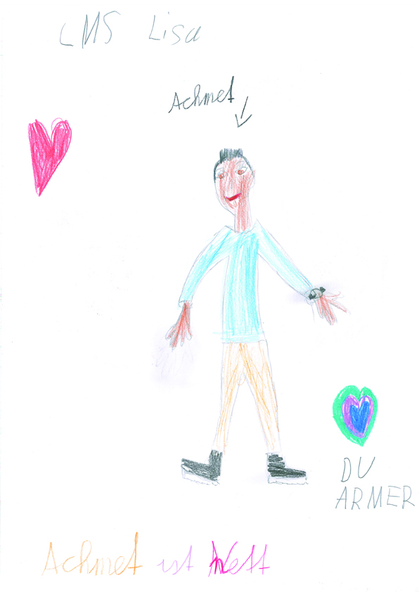 Zeichnung Ahmed